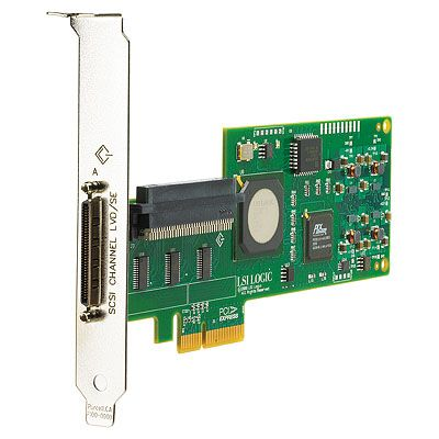 Контроллер HP Single Channel Ultra320 SCSI Adapter (PCI-E x4, 1int, 1ext - All Srv/Wrst)