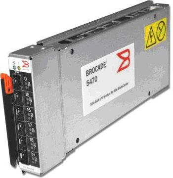 IBM Brocade 20-port 8 Gb SAN Switch Module for IBM BladeCenter(tm), 20-port(14 int./6 ext.)