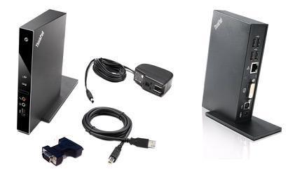Lenovo USB Port Replicator with Digital Video (Edge13,14,15; L41x, L51x; R400,500; SL; T4xx;T5xx;W5x0; X100,20x,30x)