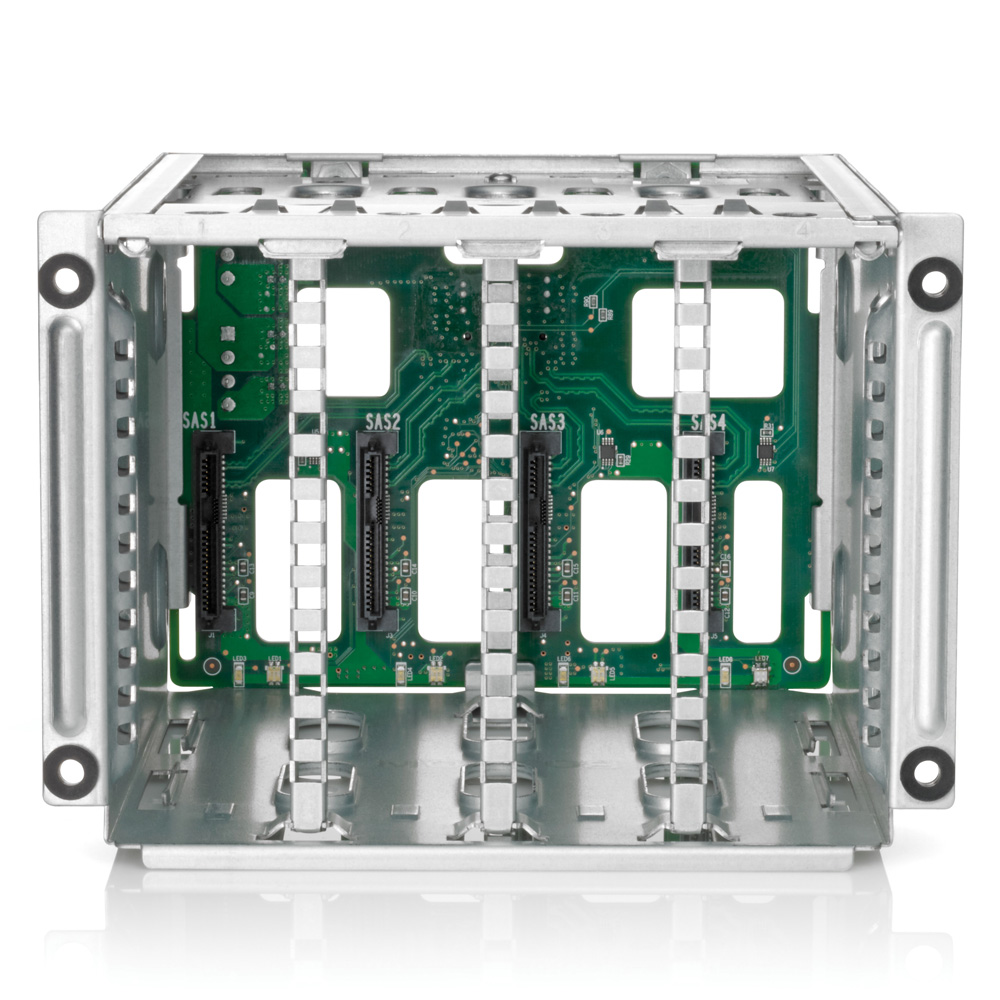 Дисковая корзина HP DL180G6 Rear 2LFF Kit (Support 12 bay 180G6 servers only, replaces 2 FL/FH x8 PCI-E slots)