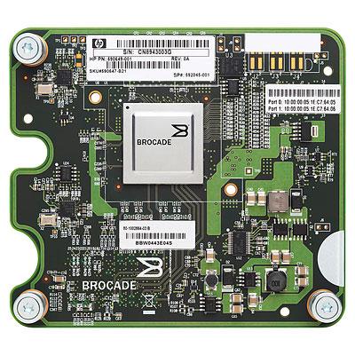 HP Brocade 804 BL cClass Dual Port Fibre Channel Adapter (8-Gb) (BL280G6, 460G6, 490G6, 685G5, 860, 870)