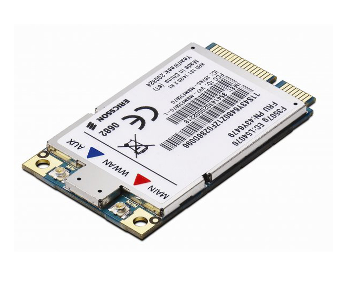 ThinkPad 3G Broadband Option(78Y1399) (forready models of ThinkPad T410, T510, W510, X100e and Edge Series notebooks)