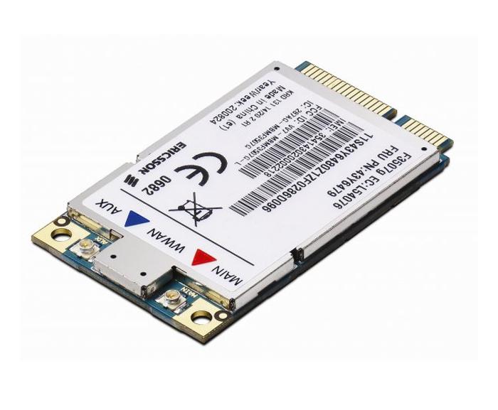 ThinkPad 3G Broadband Option(78Y1399) (forready models of ThinkPad T410, T510, W510, X100e and Edge Series notebooks)