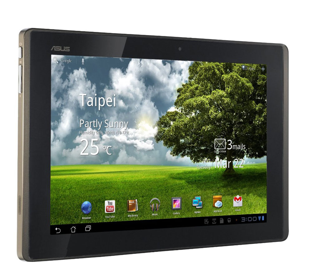 Планшет ASUS Eee Pad Transformer TF101 Tegra 250 1.2GHz, 1Gb, 16GB, 10-inch 1280х800, Wi-Fi, BT, Android 3.0, black