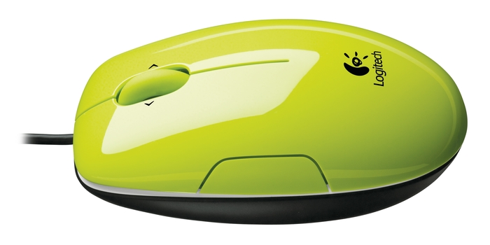 Logitech LS1 Laser Mouse, Acid-Yellow, USB, [910-001111]