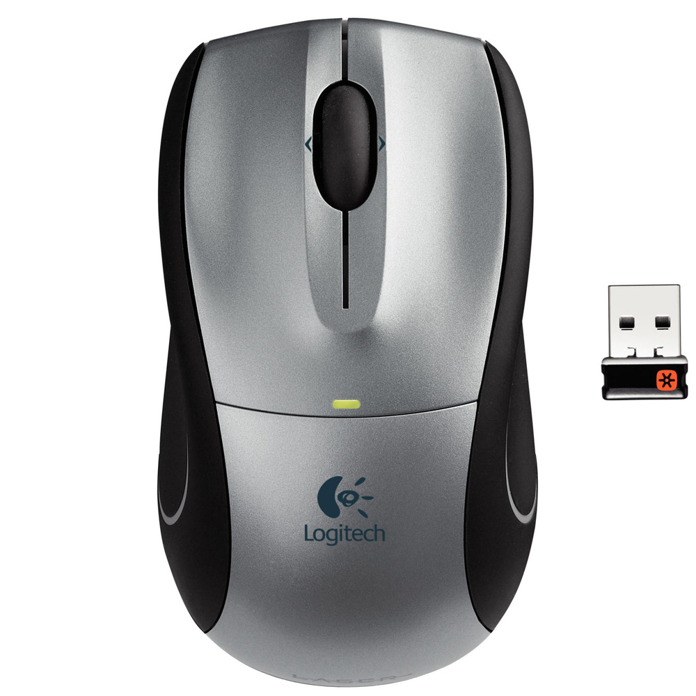 Манипулятор Мышь Logitech Wireless Mouse M505, Silver, Rtl, [910-001320]