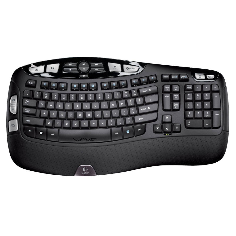 Logitech Wireless Keyboard K350, Black, [920-002025]