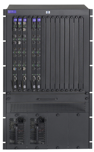 Шасси HP ProCurve Routing Switch 9315m 17U (15 slots free, 480Gb/s)