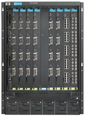 Шасси HP ProCurve Routing Switch 9408sl 15U