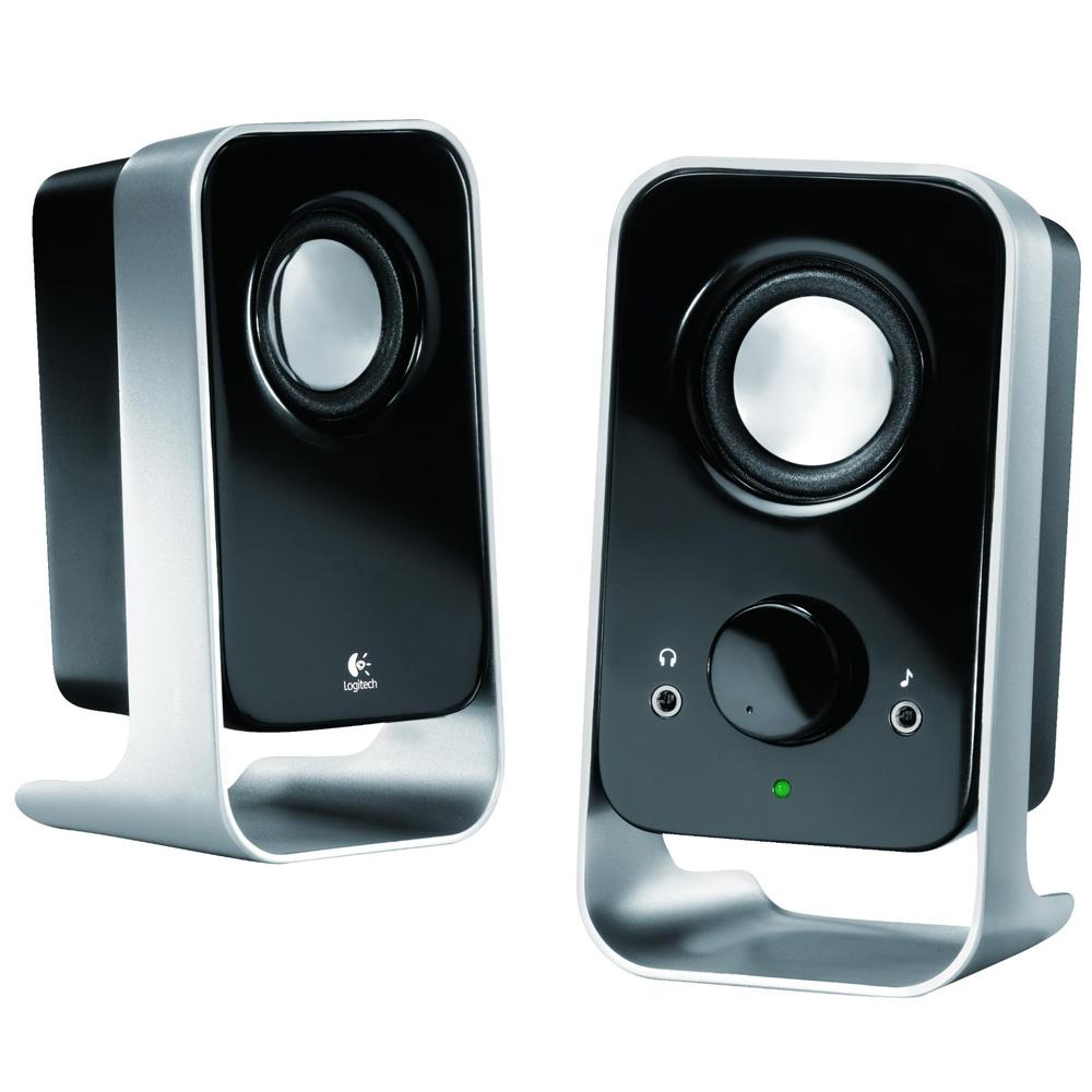 Logitech Speaker System LS11 , 2.0, 3W(RMS), Black, [980-000046]