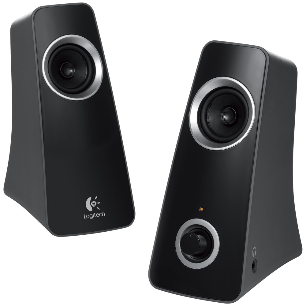 Logitech Speaker System Z320, 2.0, 10W(RMS), Black, [980-000331]