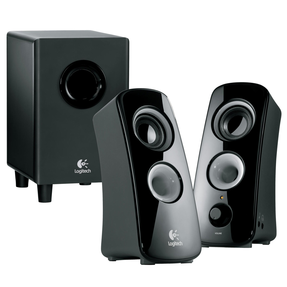 Logitech Speaker System Z323, 2.1, 30W(RMS), Black, [980-000356]