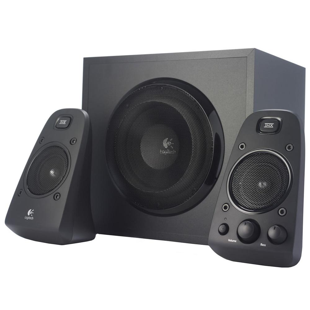 Logitech Speaker System Z623, 2.1, 200W(RMS), [980-000403]