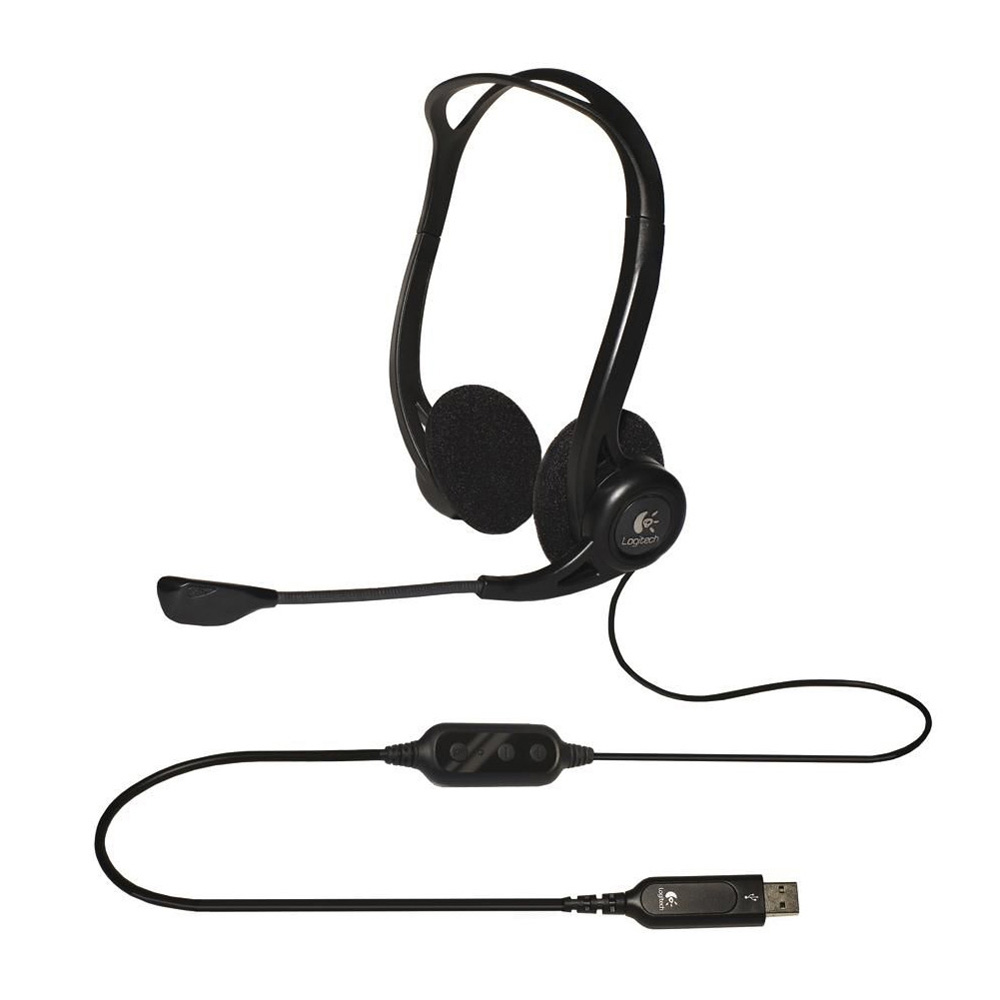 Гарнитура Logitech Stereo Headset PC 960 oem (981-000100)