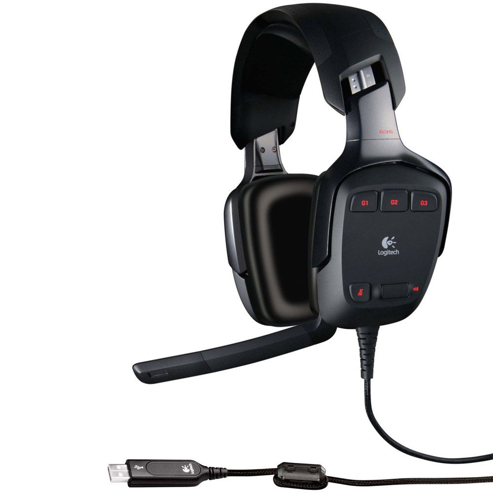 Logitech Headset G35, USB, [981-000117]