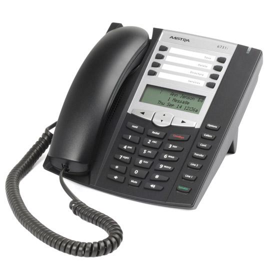 Aastra terminal 6731i w/o power supply (SIP-телефон, БП опционально)