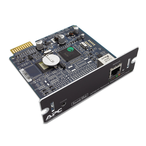 Модуль управления APC SmartSlot UPS Network Management Card 2 (HTTPS/SSL, SSH (up to 2048-bit encr.), SNMPv3 CD with software (new release AP9617)