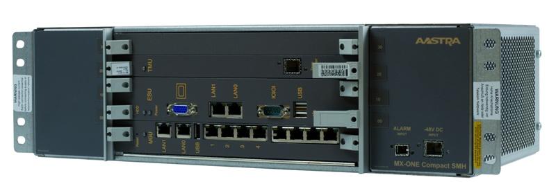 Aastra MX-One Lite 4.1 Basic Telephony Station (Базовый комплект TC: шлюз 8xPRI, 2xEth; сервер с лицензией на 50 пользователей, 20 позиций)