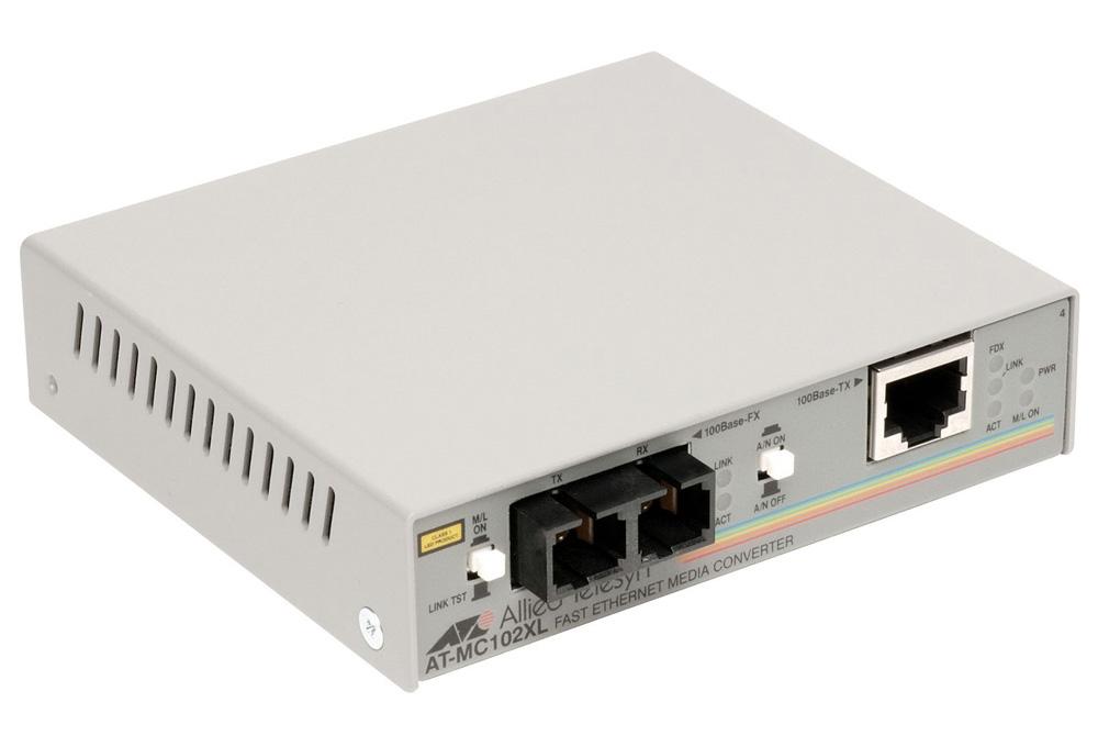 Allied Telesis Media Converter 100BaseTX to 100BaseFX (SC Multimode)