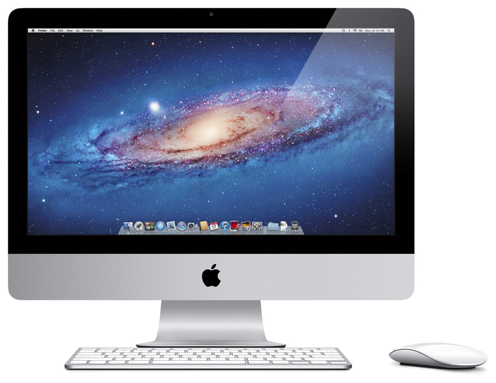 Персональный компьютер (моноблок) Apple   21.5-inch (2019) iMac Retina 4K display: 3.6GHz Q-core 8th-gen. Core i3, 8GB, 1TB Serial ATA Drive @ 5400 rpm, Radeon Pro 555X - 2GB video, Silver