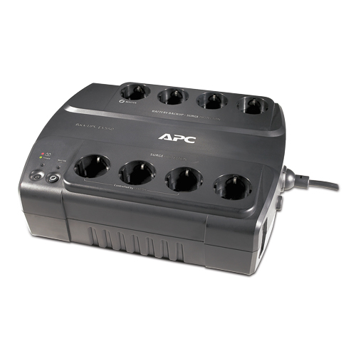 Источник бесперебойного питания APC Back-UPS ES 550VA, 330W, 230V, 8 Russian outlets (4 Surge & 4 batt.), Data, DSL protection, USB, user repl. batt., 3 y.warr. (renewal BE550-RS)