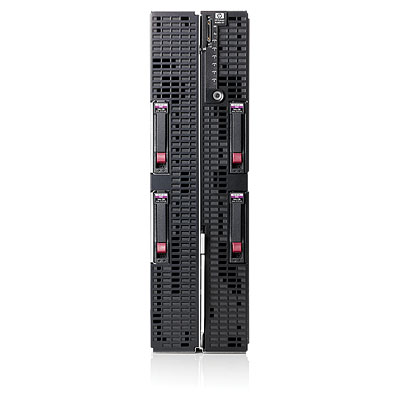 Blade сервер HP ProLiant BL680c G7 X7550 (2xXeon 8-Core 2.0GHz, 18Mb, 4x4GbR2D, P410i(ZM, RAID1, 0, 1+0), noSFF HDD(4), 6xFlex1, 10Gb MF, iLO blade edition, 4slots in Encl)