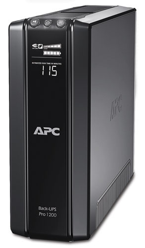 Источник бесперебойного питания APC Back-UPS Pro Power Saving RS, 1200VA/720W, 230V, AVR, 10xC13 outlets (5 Surge and 5 batt.), Data/DSL protrct, 10/100 Base-T, USB, PCh, user repl. batt., 2 y warr.