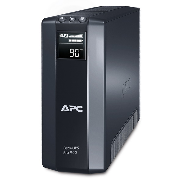 Источник бесперебойного питания APC Back-UPS Power Saving RS, 900VA, 540W, 230V, AVR, 8xC13 outlets ( 4 Surge & 4 batt.), Data, DSL protrct, 10, 100 Base-T, USB, PCh, user repl. batt., 2 y warr.