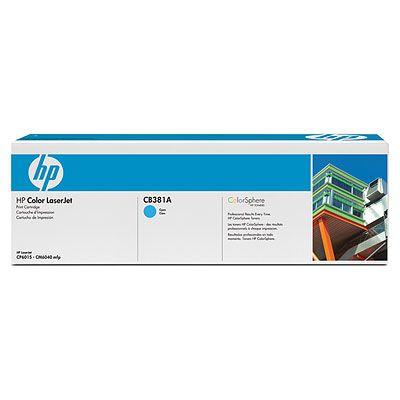 HP картридж к CLJ CP6015/CM6030/CM6040, Cyan