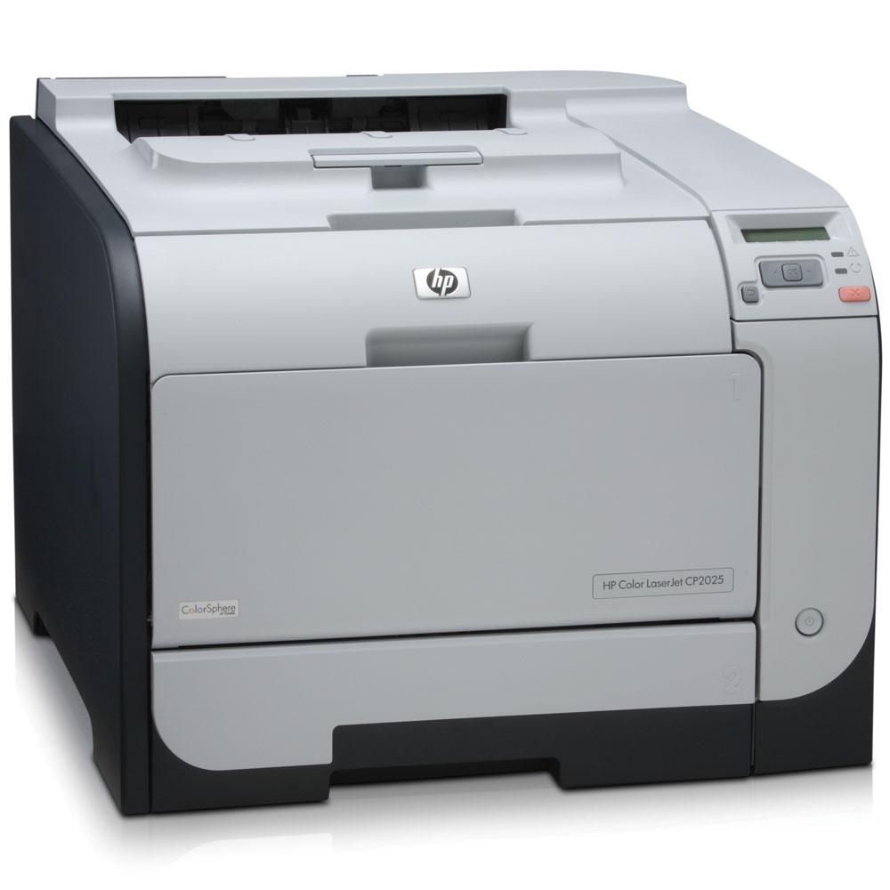 Цветной лазерный принтер HP Color LaserJet CP2025dn   (A4, 600x600dpi, 20(20)ppm, ImageREt3600, 128Mb, Duplex, 2trays 50+250, USB/LAN, Postscript3, 4Cartriges1200pages in box)