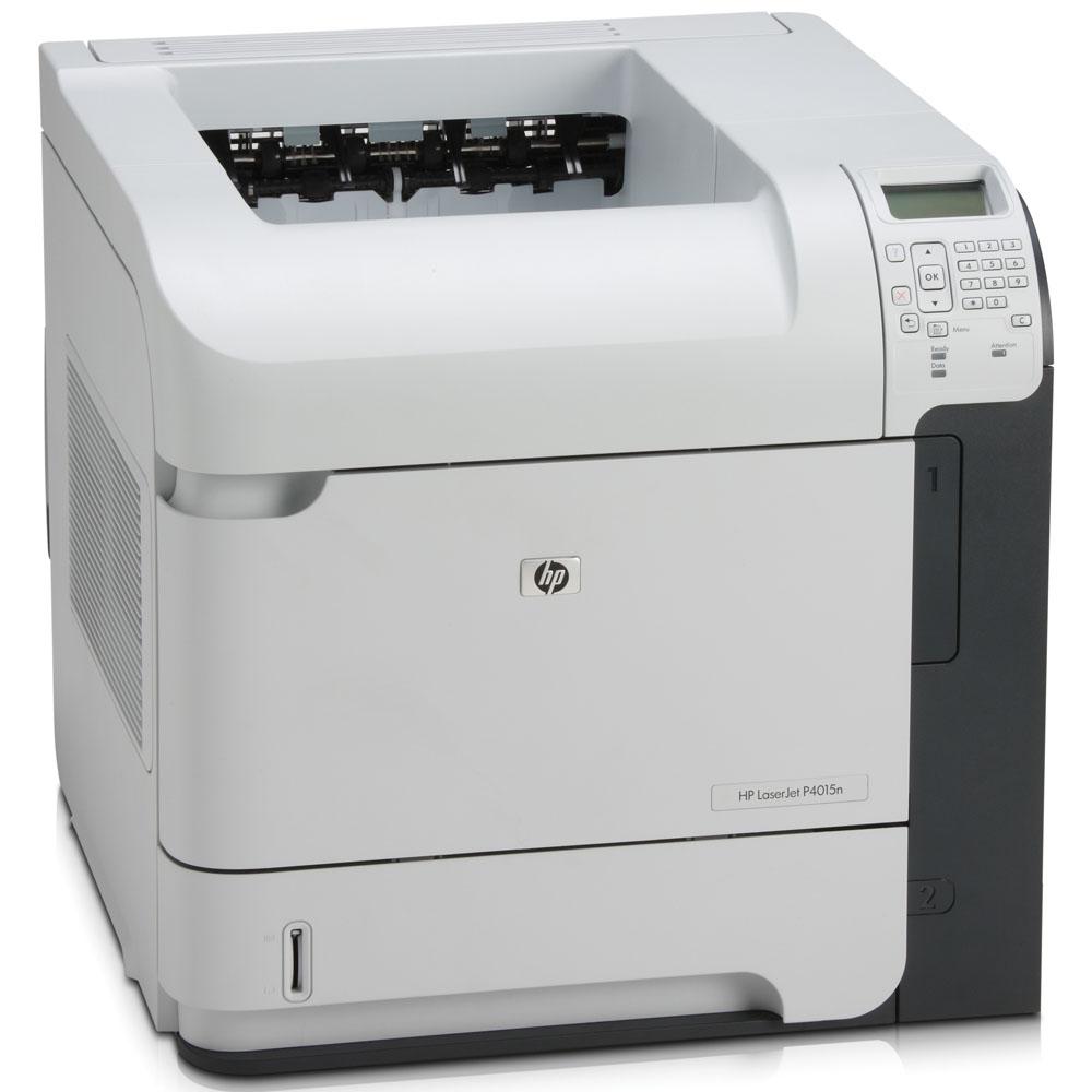 Черно-белый лазерный принтер HP LaserJet P4015n (A4, 1200dpi, 50ppm, 128Mb, 2 trays 500+100, USB/GigEth/EIO, Postscript)