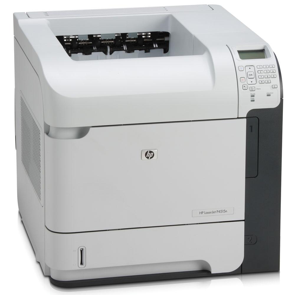 Черно-белый лазерный принтер HP LaserJet P4515n (A4, 1200dpi, 60ppm, 128Mb, 2 trays 500+100, USB/GigEth/EIO, Postscript)