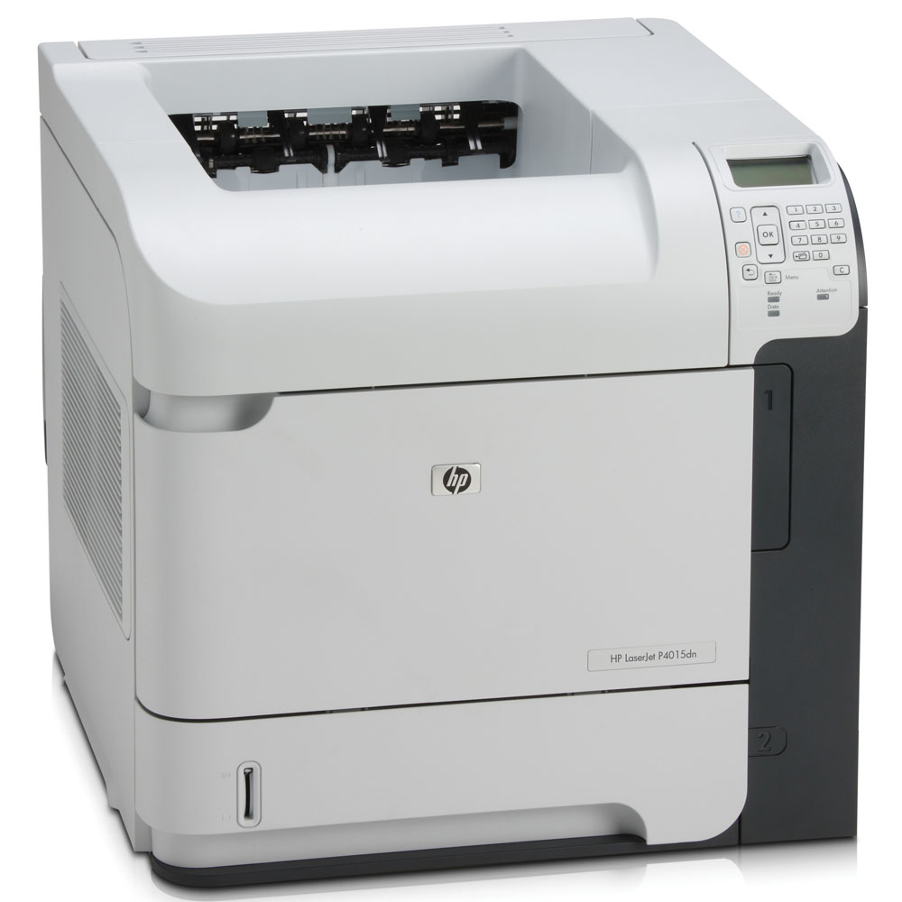Черно-белый лазерный принтер HP LaserJet P4015dn   (A4, 1200dpi, 50ppm, 128Mb, 2 trays 500+100, Duplex, USB/GigEth/EIO, Postscript)