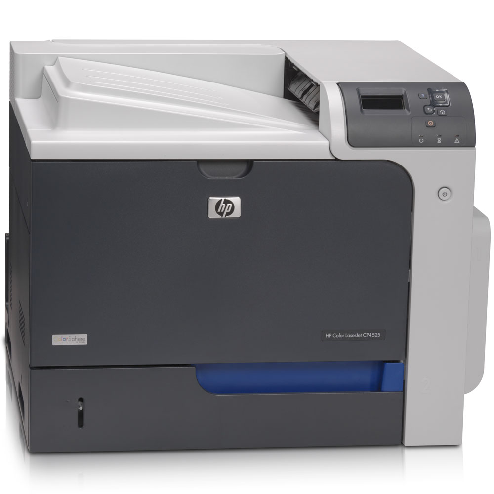 Цветной лазерный принтер HP Color LaserJet Enterprise CP4525dn Printer   (A4, 1200dpi, 40(40)ppm, 512Mb, 2trays 500+100, USB/LAN/EIO, Duplex, repl. Q7493A and CB504A)