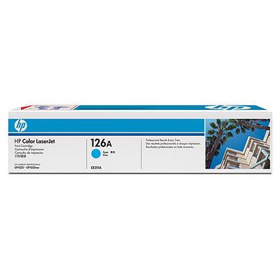 Картридж HP 126A LaserJet, Cyan