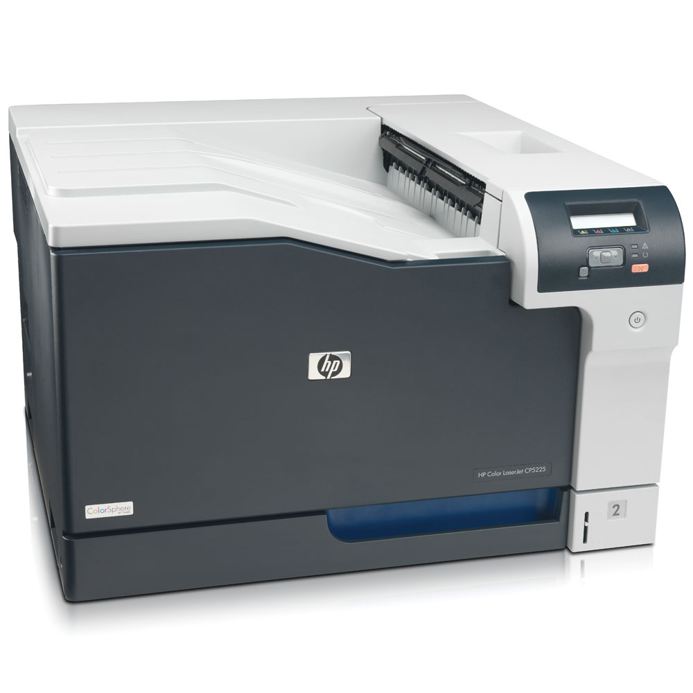 Цветной лазерный принтер HP Color LaserJet Professional CP5225 Printer (A3, 600dpi, 20(20)ppm, 192Mb, 2trays 250+100, USB)