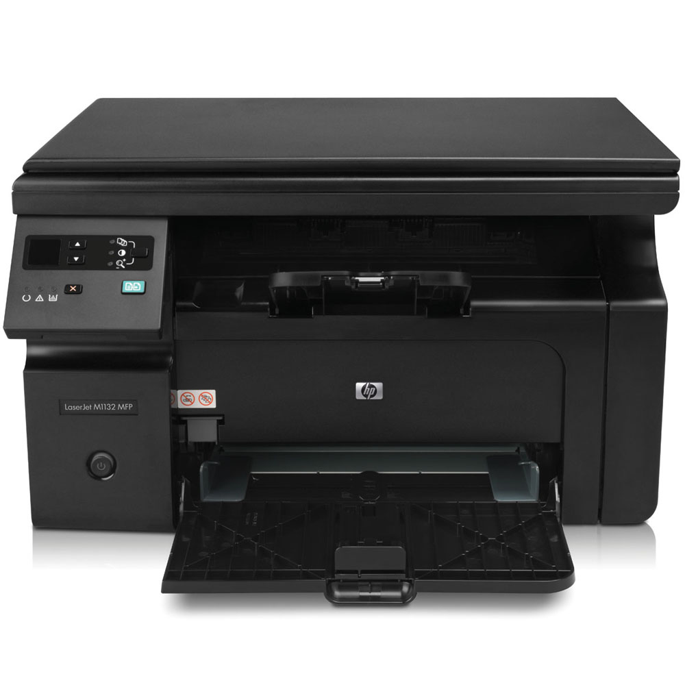 Черно-белое лазерное МФУ HP LaserJet Pro M1132 MFP   (printer/copier/scanner, A4, 1200dpi, 18ppm, 8 Mb, 1 tray 150, USB, Flatbed, black, Cartridge 700 pages in box, replace CB537A)