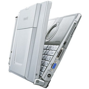 Ноутбук защищенный Panasonic Toughbook CF-T8 Intel Core 2 Duo processor SU9400 1.4GHz L2 cache 3MB FSB 800MHz; 2048MB SDRAM DDR2-667; HDD 160Gb; Display 12.1-inch TFT(1024x768) XGA with Touchscreen; Intel GS45 Graphics Media Accelerator; 56K V.92 modem; Gigabit Ethernet; Touch Pad; Bluetooth; Intel PRO/Wireless 802.11b/g; SD slot; Li-Ion battery; Windows XP Professional Rus