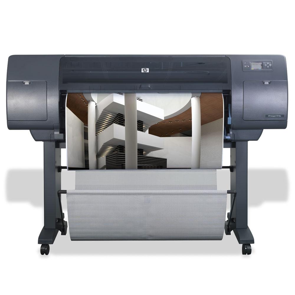 Широкоформатный принтер (плоттер) HP Designjet 4020ps (42-inch, 2400x1200dpi, 608Mb, 160Gb HDD, GigEth/FireWire/EIO, single-sheet feed, roll feed, autocutter, stand, PS, replace Q1274A)