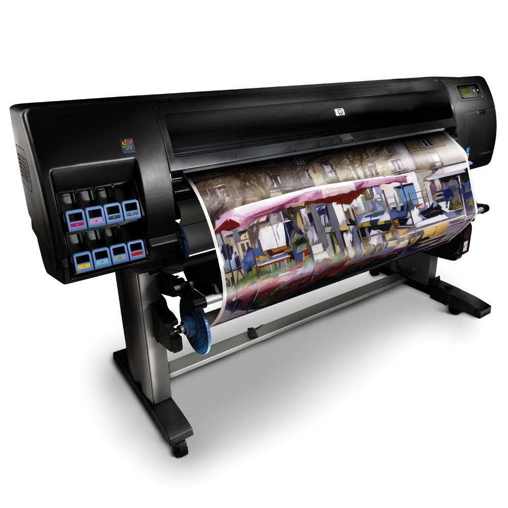 Широкоформатный принтер (плоттер) HP Designjet Z6200 Photo Printer (60-inch, 2400x1200 dpi, 32GB, HDD 160GB, stand, take-up reel, roll feed, autocutter, LAN/USB/EIO, 8 cartridges/4 printheads, replace Q6652A)