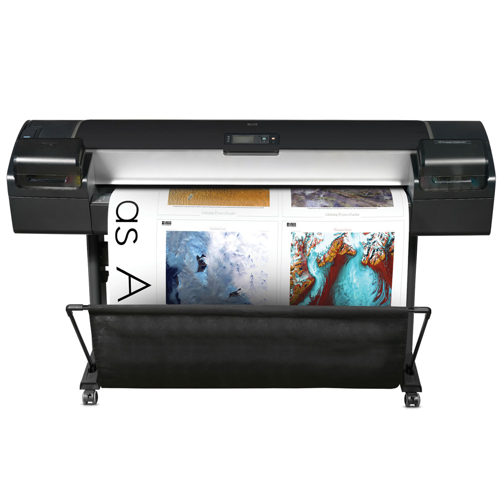 Широкоформатный принтер (плоттер) HP Designjet Z5200ps 44in   Photo Printer (44 , 8 colors, 2400x1200dpi, 32Gb,  160Gb HDD,  10, 2m2/h(color picture normal mode), USB/LAN/EIO, stand, sheetfeed, rollfeed, autocutter, PS,  replace Q1251A,  Q1252A)