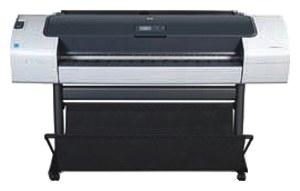 Широкоформатный принтер (плоттер) HP Designjet T770 (24-inch, 2400x1200dpi,8Gb, ext.HDD160Gb, USB/LAN/EIO/USB(ext.), sheetfeed, rollfeed,autocutter,6 cartr./3 head, replace CK837A, CK838A)