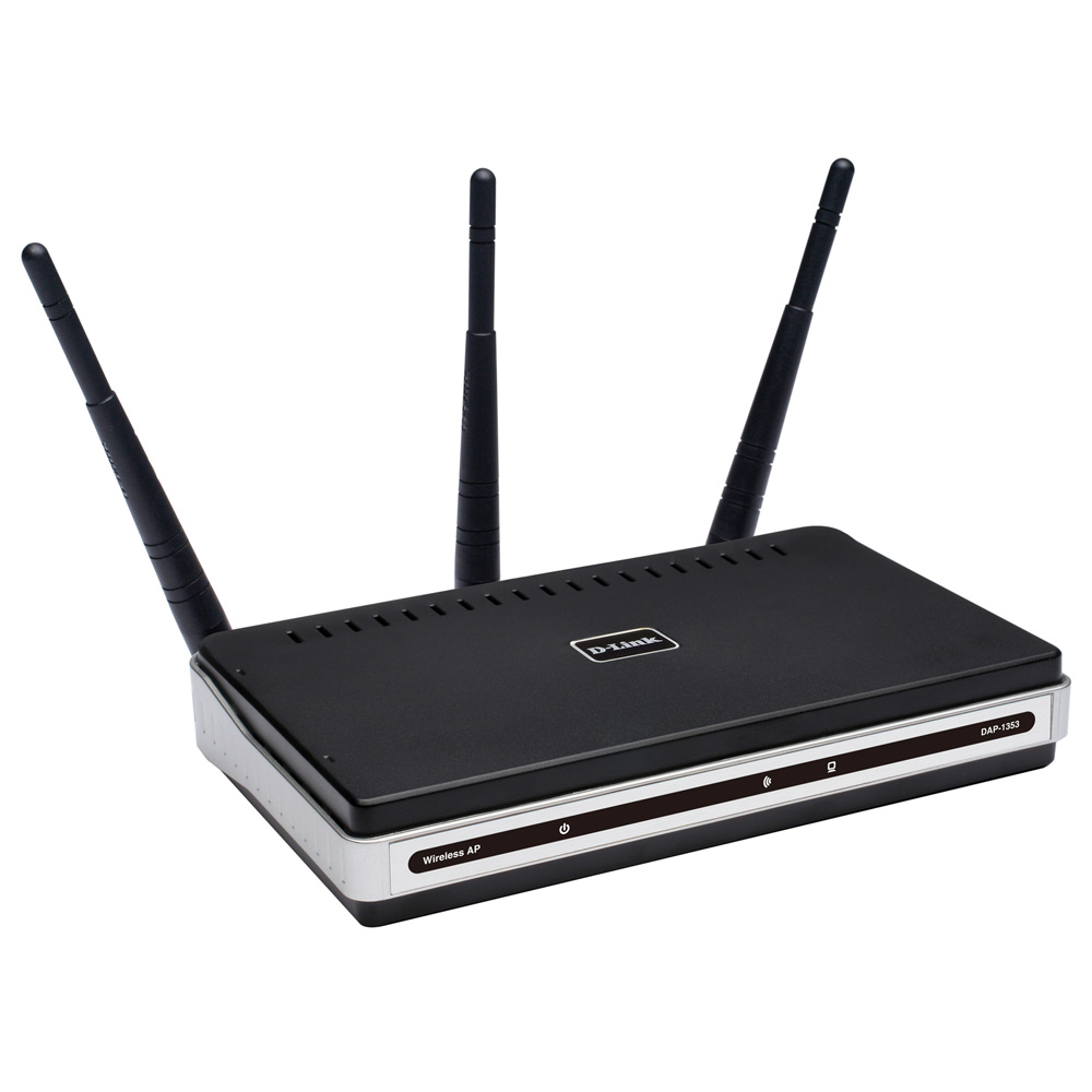 D-Link DAP-1353, RangeBooster Access Point, 802.11n