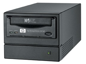 Стример HP StorageWorks DAT40e (40Gb, 6Mb/s) Tape Drive External, SCSI