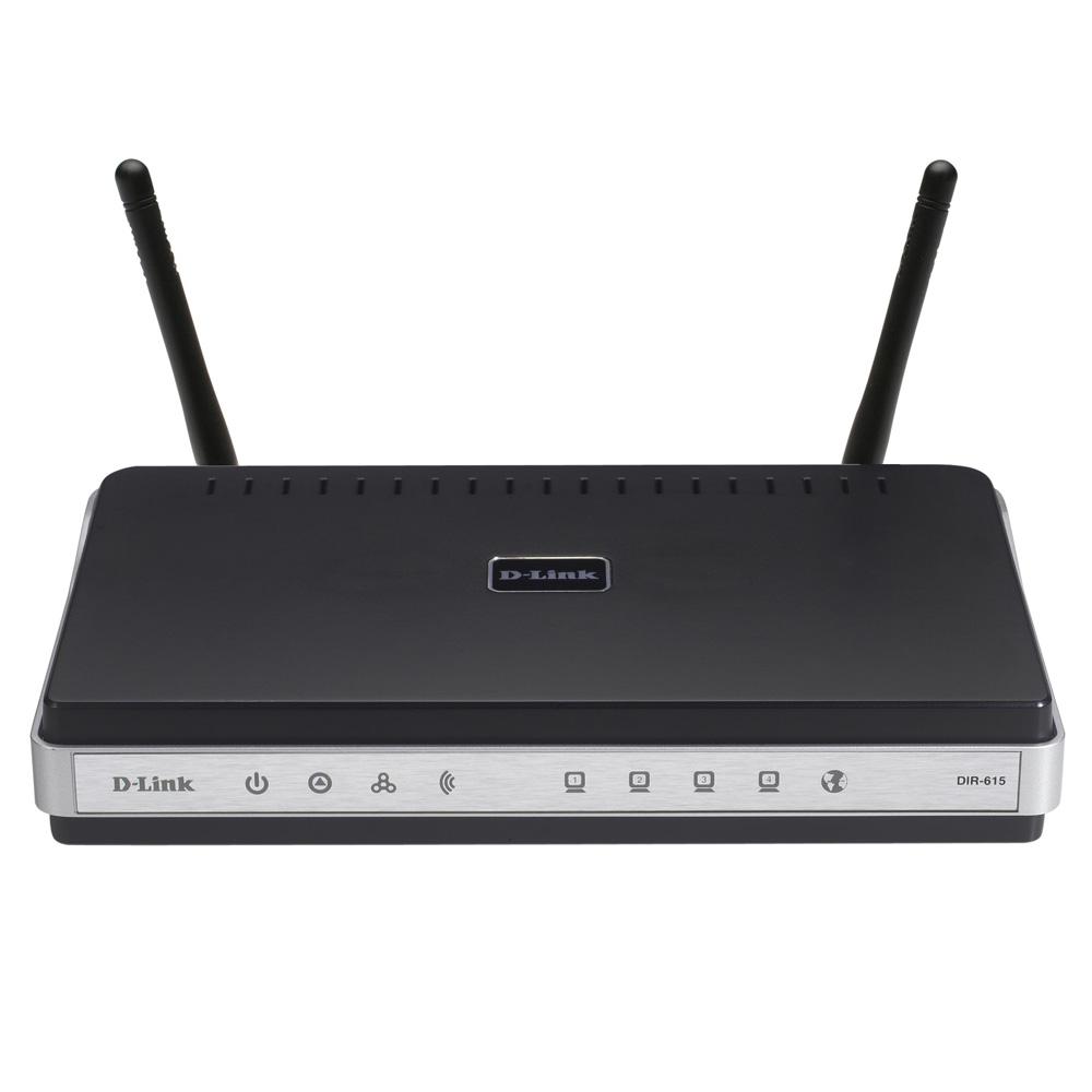 D-Link DIR-615, Wireless Router, 4x10, 100 LAN, 1xWAN, 802.11n (Repl DIR-615)