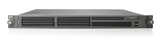 Сервер HP ProLiant DL145 G2 Server AMD Opteron 252-2.6/1Mb (Single Core),   2Gb PC3200/400MHz, 36Gb 15000 rpm Ultra320-SCSI (max. 2x72Gb), NHP, 1/2 PCI, Dual Gigabit NIC, 1 Unit