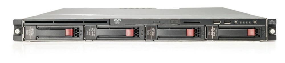 Сервер HP ProLiant DL320 G5p X3210 2GB (1URack X2,13GHzQuadCore, 8Mb, 2x1024mb, 4port SATA RAID(0,1), no LFFHDD(2, 4), no DVD and FDD, iLO2 std, 2xGigEth)
