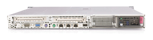 Сервер HP ProLiant DL360 G4p Server XeonDP-3.2/2Mb/800MHz,   1Gb PC2-3200/400MHz, Ultra320-SCSI (max. 2x300Gb), SA6i, HP, 2/2 PCI, CD, FDD, Dual Gigabit NIC, 1 Unit
