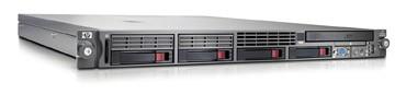 Сервер HP ProLiant DL360 G5 Server Rack 1U Xeon 5110 DualCore 1.6GHz/2x2Mb, 2x512Mb, SAS HotPlug Drive Cage (max 6whole/4active SFF HDD), RAID E200i 64Mb (0/1), noCD, noFDD, iLO2, Dual Gigabit Ethernet