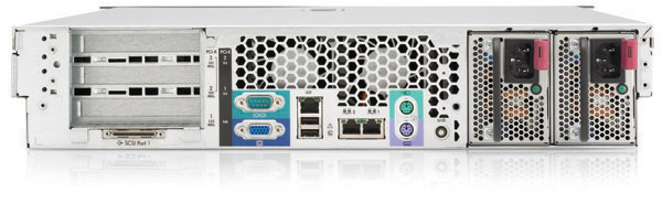 Сервер HP ProLiant DL380 G4 Server XeonDP-3.6/2Mb/800MHz,   1Gb PC2-3200/400MHz, Ultra320-SCSI (max. 6x300Gb), HotPlug, 3/3 PCI, SA6i, CD, noFDD, Dual Gigabit NIC, 2 Units